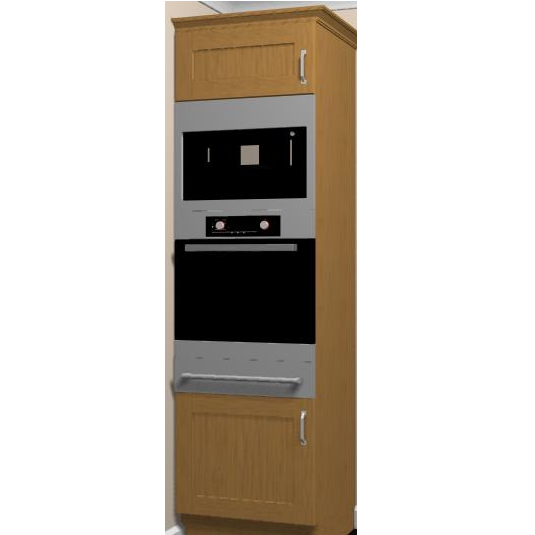 600 Tall Oven Housing