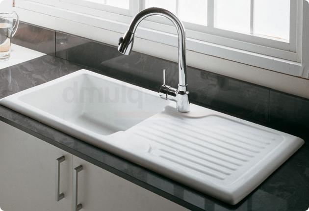 1 1/2 Bow Sink LH