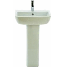 600 Full Pedestal Basin