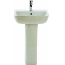 700 Full Pedestal Basin