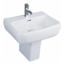 500 Semi Pedestal Basin