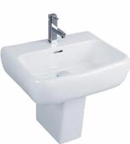 600 Semi Pedestal Basin