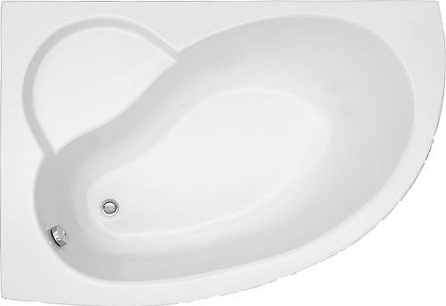 Offset Corner Bath LH